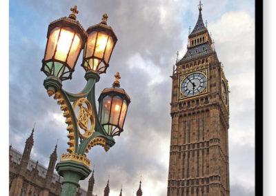 Evening Light at Big Ben - Photograph on Canvas
