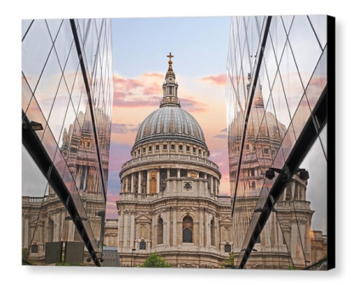 London Awakes - Photograph on Canvas