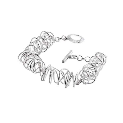 CL205 - Wire sterling silver bracelet