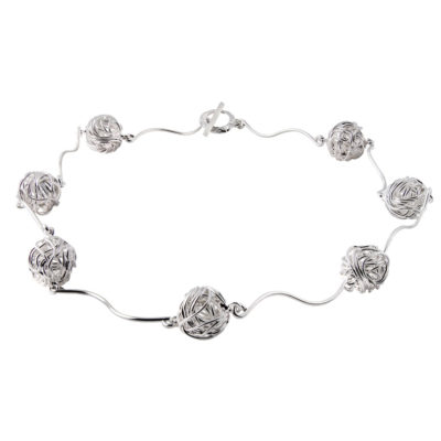 CL259 - Nest sterling silver necklace