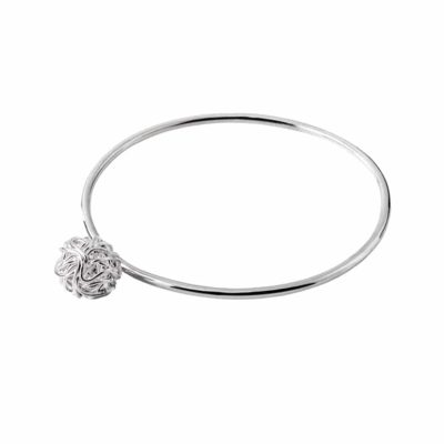CL260 - Nest sterling silver bangle