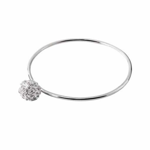 CL260 - Nest sterling silver bangle