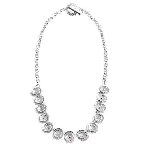 CL294 - Poppy sterling silver necklace