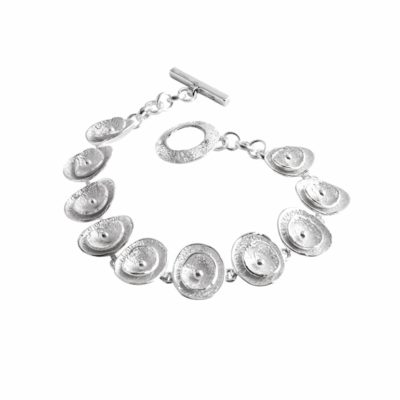Poppy sterling silver bracelet - CL295