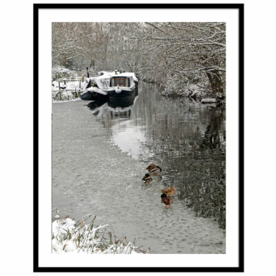 A Winter's Day On the River - Photograph by Gill Billington