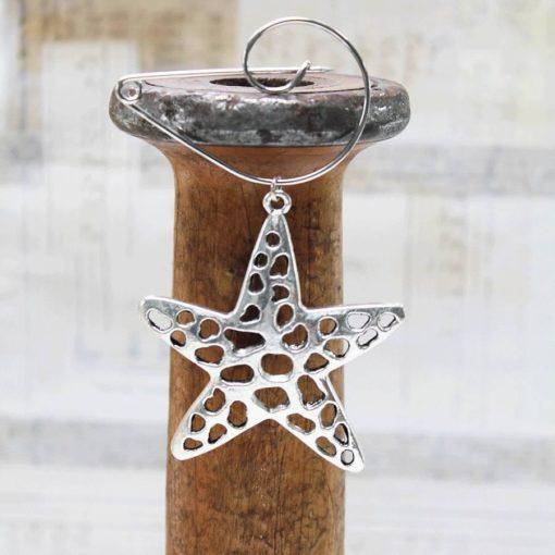 Contemporary Star Fish Brooch