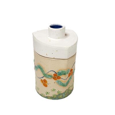 Handmade Ceramic Jar with lid
