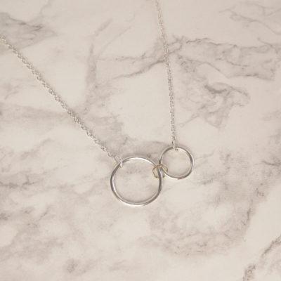 Triple Hoop Necklace