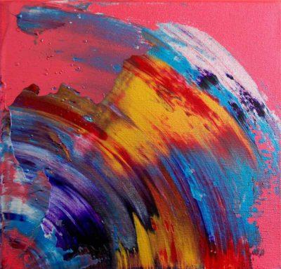 Acrylic & Resin on Canvas