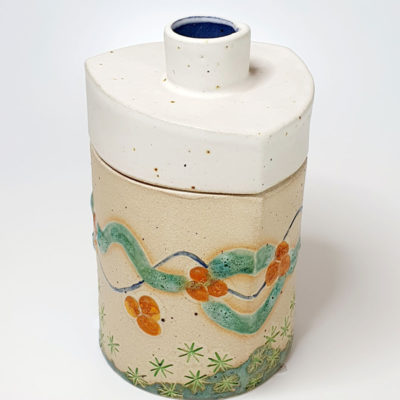 Ceramic Jar by Nikki Roberson