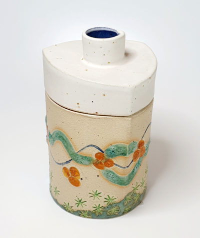 Ceramic Jar by Nikki Roberson