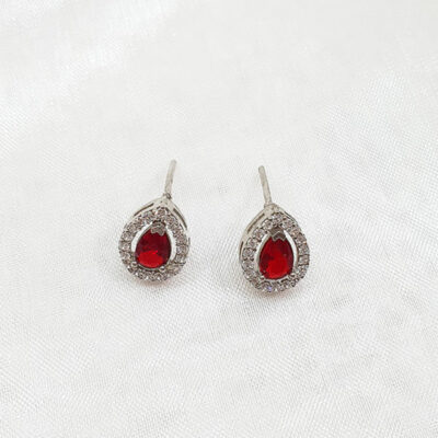 Sterling Silver & Cubic Zirconia Earrings