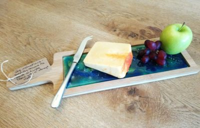 Handmade Glass Cheese Board