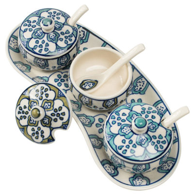 Ceramic Dipping Sauce Tray