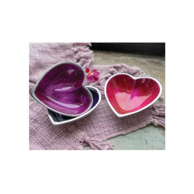 Aluminium Heart Dish