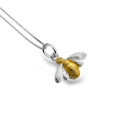 Golden Bumblebee Necklace