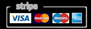 We accept all major credit & debit cards