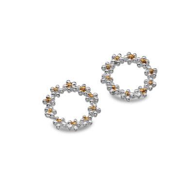 Daisy Chain Stud Earrings