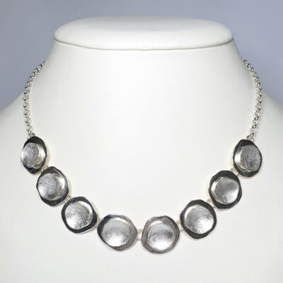 Handmade Sterling Silver Necklace by Chris Lewis