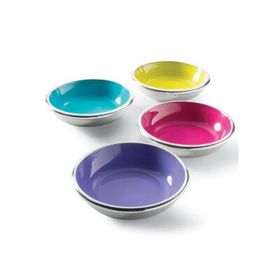 Aluminium & Enamel bowl