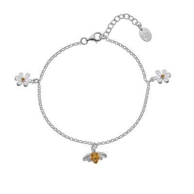 Golden Bumblebee Bracelet
