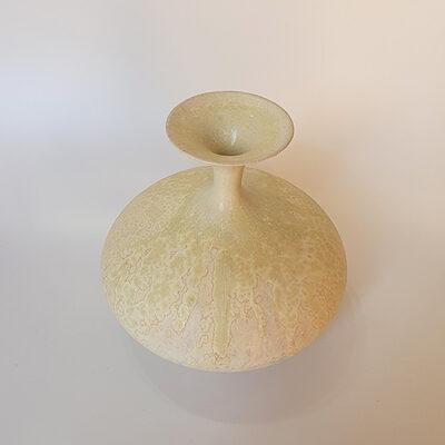 Handmade Small Ceramic Bottle