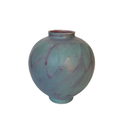 Handmade Blue Moon Ceramic Vase