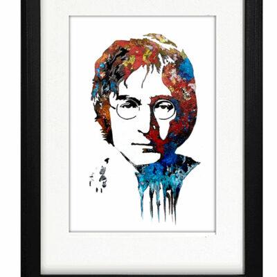 John Lennon - Framed